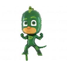"""Foil balloon 37"""" PJ Masks, Gekko (green)"""