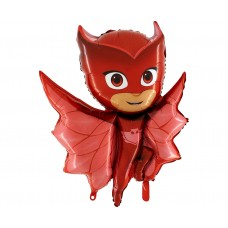 """Foil balloon 37"""" PJ Masks, Owlette (red)"""
