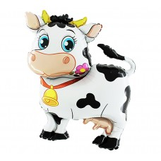 "Foil balloon 45"" SHP GRABO - ""Cow"""