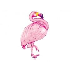 Foil balloon Flamingo, pink, 70x95cm