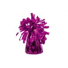 Foil balloon weight, dark pink (1 pc)