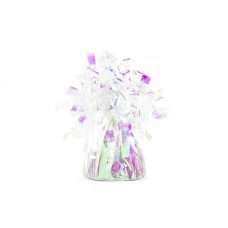 Foil balloon weight, iridescent (1 pc.)