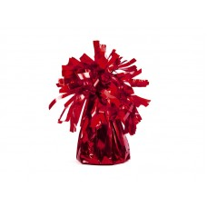 Foil balloon weight, red (pc.)