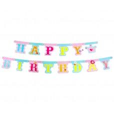 "Garland ""Princess- Happy Birthday"""