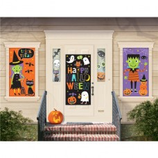 Halloween Friends 3 Large Scene Setter Kit (82,5 см х 1,6 м)