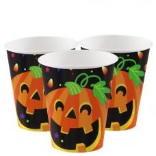 Happy Halloween Cups - 255ml - 8pcs