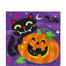 Happy Halloween Luncheon Napkins - 2ply - 16pcs