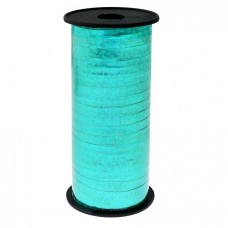 Holographic ribbon, turquoise, 100y 92 m