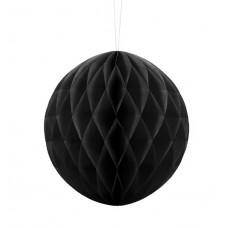 Honeycomb Ball, black, 20cm