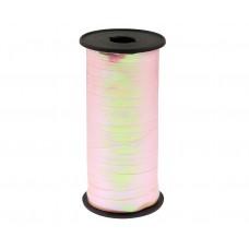 Iridescent ribbon, light pink, 100y 92 m