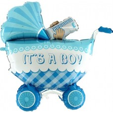 """It's A Boy Buggy 3D 42"""" 106cm Single Pack"""