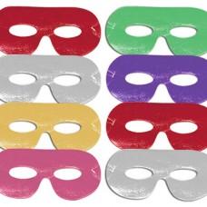 Card Eye Masks - Assorted, 8pcs