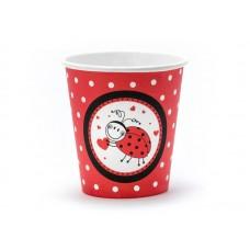 Ladybug Cups, 180ml (1 pkt / 6 pc.)