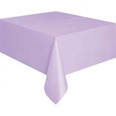 Lavender paper table cover, 132x183 cm