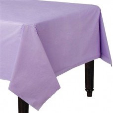 Lilac Plastic Tablecover - 1.4m X 2.8m