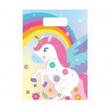 "Loot bags ""Rainbow Unicorn"", 6 pcs"