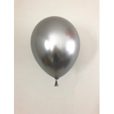 "Balony Beauty&Charm, chrome silver 5""/ 20 szt."
