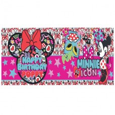 Minne Mouse Giant Personalised Banner - 1.2m x 45cm