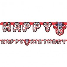 Minnie Mouse Letter Banner 1.8m