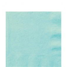 Mint Green Luncheon Napkins - 33cm Square 2ply Paper, 20pcs