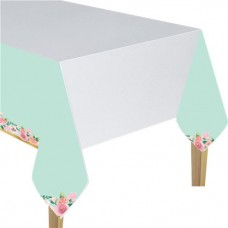 Mint To Be Paper Tablecover - 1.4m x 2.6m