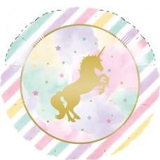 """Unicorn Sparkle Foil Metallic Balloon - 18"""""""