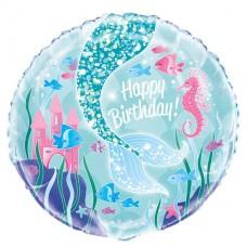 """Magical Mermaid Balloon - 18"""" Foil"""