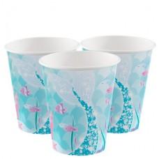 8 Magical Mermaid Paper Cups - 270ml
