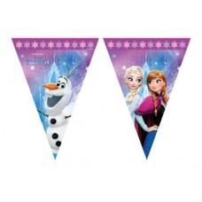 Flags Banner Elsa and Anna - Frozen 2.3m