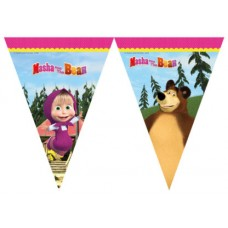 Flags Banner Masha and the Bear 2.3m