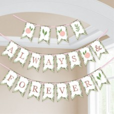 24 Love & Leaves Bunting - 4.6m