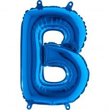 "Letter B Blue mini 14"" 36см Single Pack"