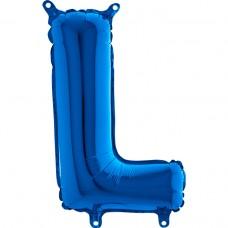 "Letter L Blue mini 14"" 36см Single Pack"