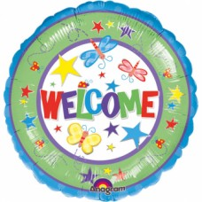 Standard Welcome Foil Balloon S40 Packaged