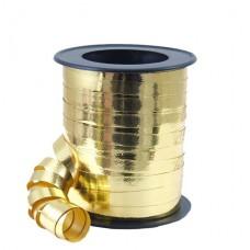 Balloon Ribbon Metallic Gold 1 m x 5 mm