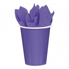 8 Cups Paper New Purple 266ml