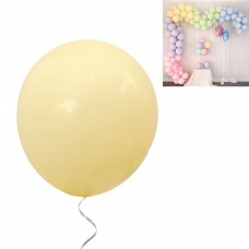 Latex Balloons - Macaron 30 cm - 10 pieces - light yellow