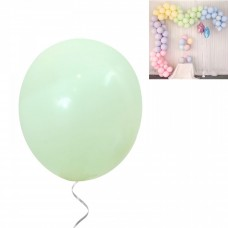 Latex Balloons - Macaron 30 cm - 10 pieces - pistachio
