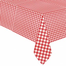 Tablecover Picnic Party plastic 137x259 cm