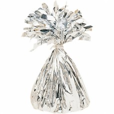 Balloon Weight Foil Silver 170g/6 oz