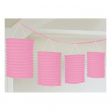 Lantern Garland Light Pink 365 cm