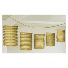 Lantern Garland Gold 365 cm