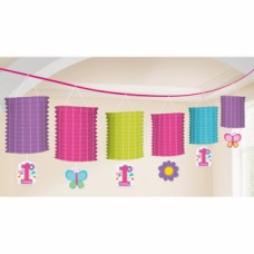 Lantern Garland Sweet BirthdayGirl 365 cm