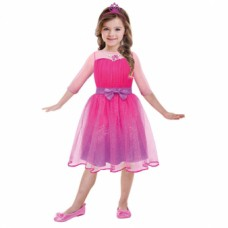 Girls' Costume Barbie Princess5 - 7 Years