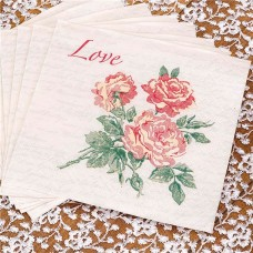 With Love Napkins - 3ply Paper