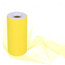 Yellow Tulle Roll - 15cm x 1m