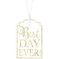 25 White Best Day Tags