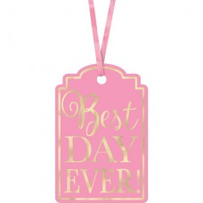25 New Pink Best Day Ever Tags
