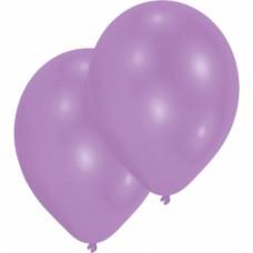 10 Latex Balloons Standard Violet 27.5 cm/11''