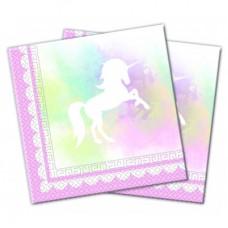 Napkins Unicorn 30cm x 30cm - 20pcs